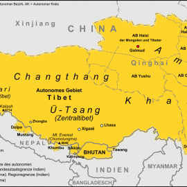 Changtang Plateau Ladakh, Jammu & Kashmir India