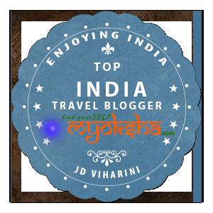 JD Viharini Enjoying India